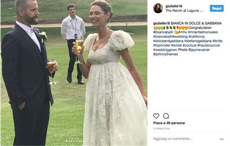 bianca balti foto matrimonio bianca balti si 232 sposata le foto delle nozze con matthew