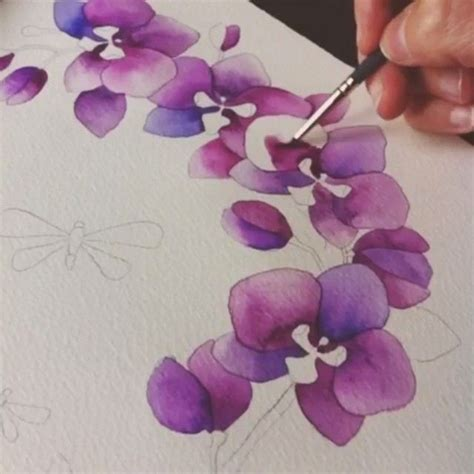 tutorial watercolor flowers 2030 best watercolour images on pinterest