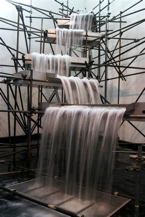 waterfall artwork studio olafur eliasson