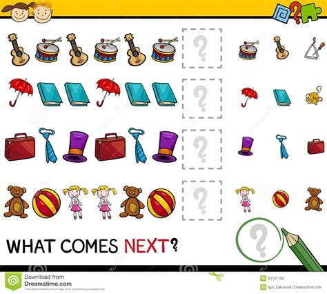 pattern worksheet what comes next what comes next worksheet preschool what best free