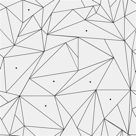 triangle pattern glass geometric simple black and white minimalistic pattern