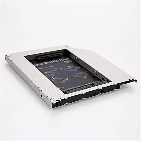 Hdd Macbook sata hdd disk drive adapter caddy cd rom bay for apple macbook pro ebay