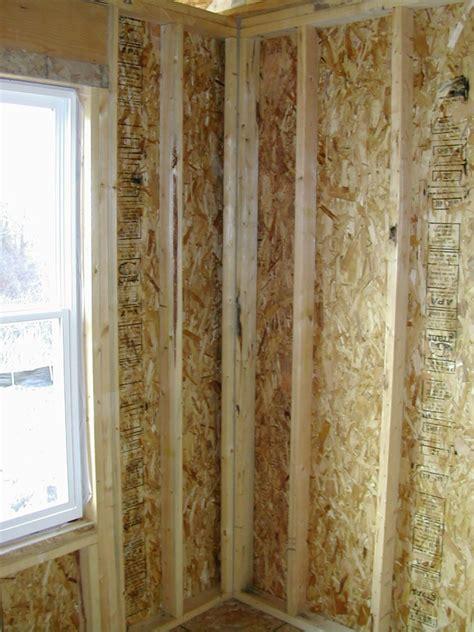 how to build a corner california corner and energy savings advanced framing