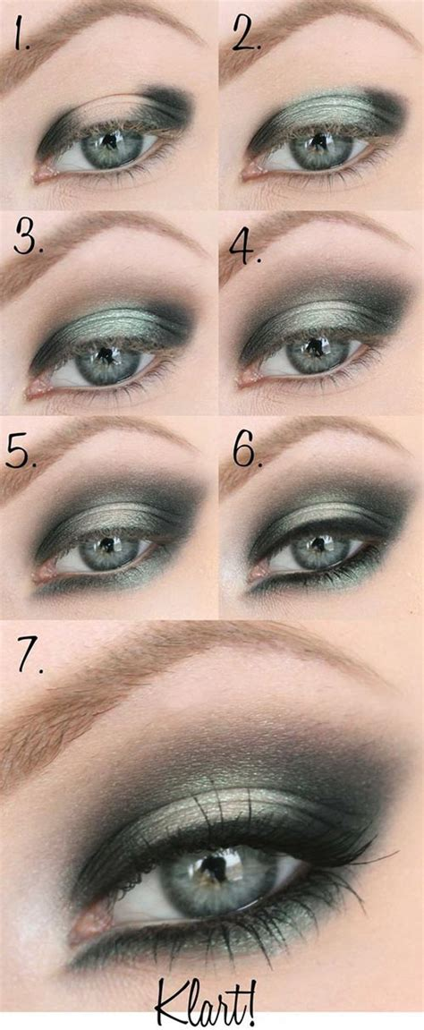 gorgeous step  step eye makeup tutorials