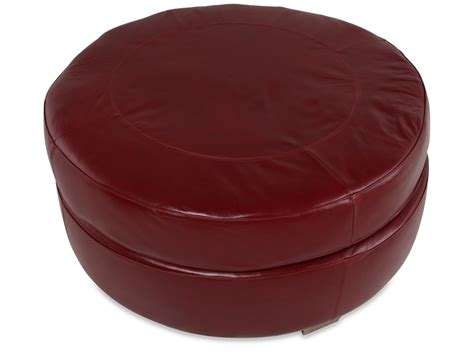 40 inch round ottoman 40 quot round leather ottoman 515 95 home basement