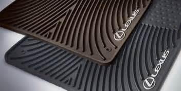 lexus oem pt9084810202 floor mat all weather floor mats 4pc kit black only ebay