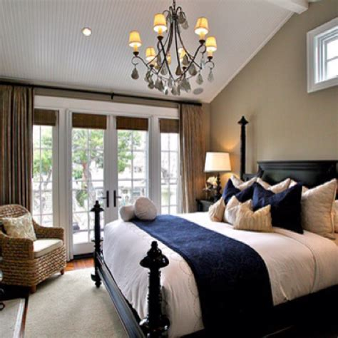 navy and white bedrooms navy white neutral bedroom boudoir beautiful pinterest