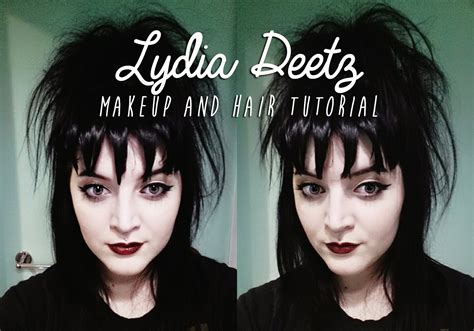 lydia deetz hairstyle lydia deetz dearlings youtube