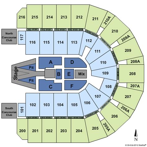 iwireless center seating view maroon 5 moline tickets 2017 maroon 5 tickets moline il