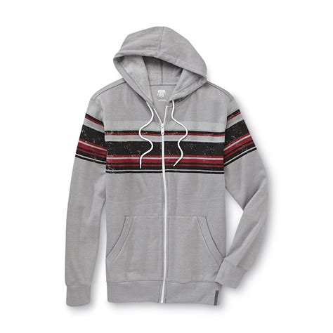 Hoodie Route 66 route 66 s fleece lined hoodie jacket striped shop