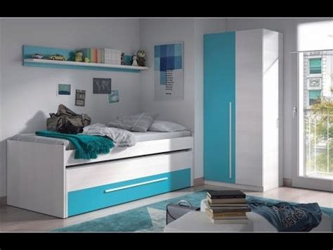 pack de cama nido  camas cajon  estante  armario juvenil color blanco combinado