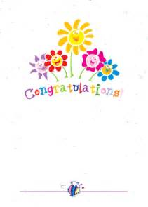 free printable contratulations card trials ireland
