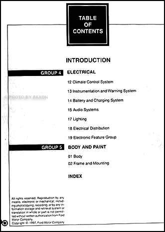 free car repair manuals 1998 lincoln mark viii lane departure warning 1998 lincoln mark viii repair shop manual original 2 volume set