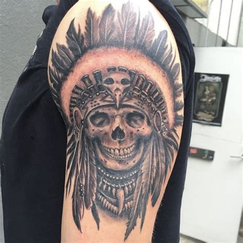 tattoo meaning indian indian chief skull tattoo meaning www pixshark com