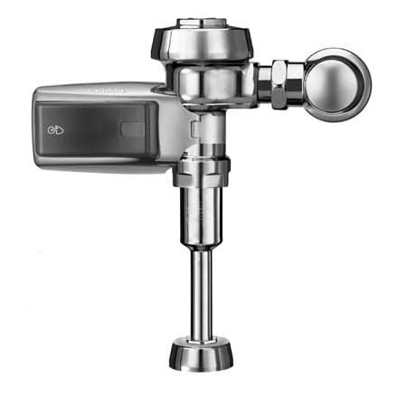 sensor operated flushers faucet sloan 3912650 chrome exposed sensor activated royal optima smooth flushometer for 190