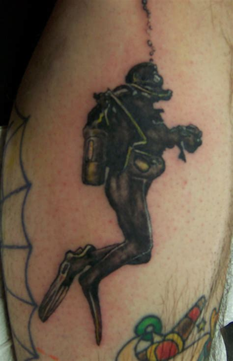 diving tattoos designs scuba diver picture at checkoutmyink