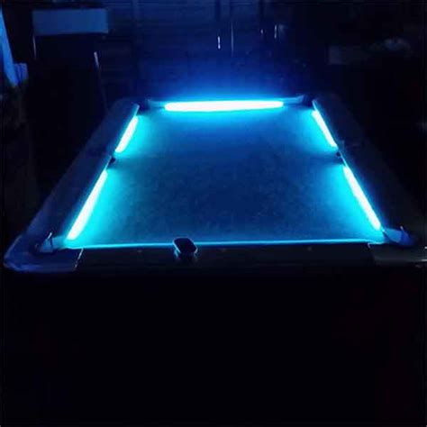 led pool table light professional lighted led pool tables rental