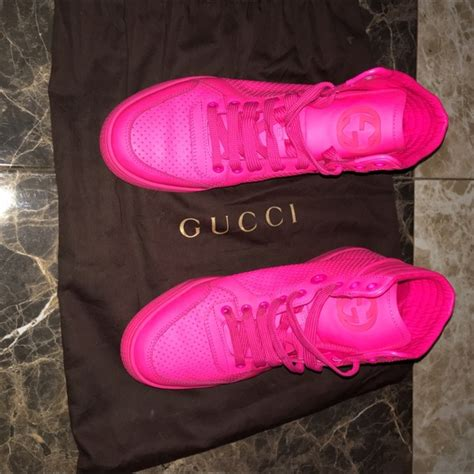 69 gucci shoes sold pink gucci sneakers from