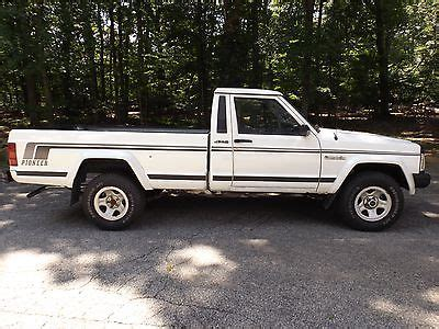 91 comanche metric ton jeep comanche cars for sale