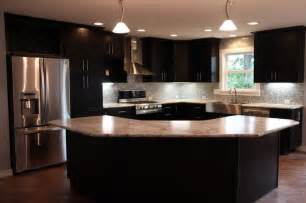 Curved Kitchen Islands Curved Kitchen Island House Plans