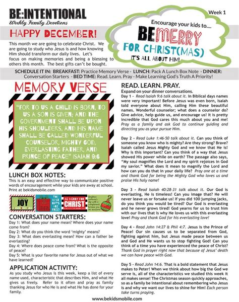 printable christmas devotions 17 best images about printable family devotions on