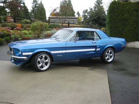 New Home Interior Colors by 1968 Ford Mustang Coupe 154084