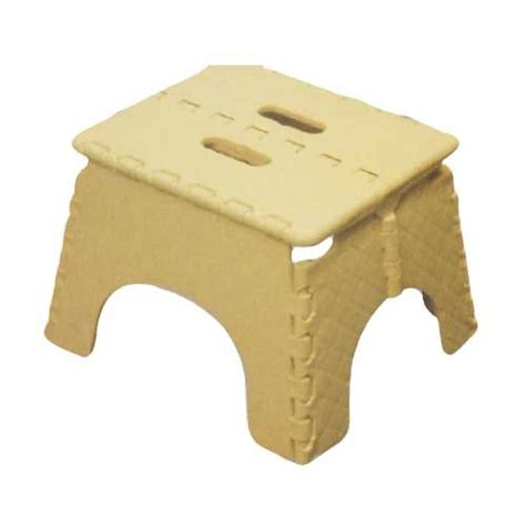 Small Plastic Step Stool by Folding Plastic Step Stool Foldable Seat For Kitchen And
