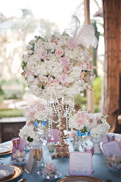 themed wedding centerpieces ideas for a cinderella themed wedding wedding centerpieces and small flowers