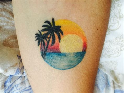 palm tree sunset tattoo designs 44 best images about sunset tattoos on
