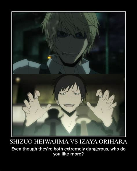 Durarara Memes - the gallery for gt izaya and shizuo gender bender