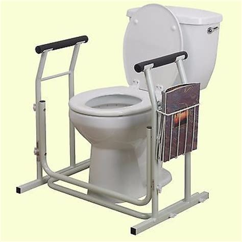 Toilet Grab Bars Free Standing Toilet Support Rail Free Standing Safety Grab Bar Handicap