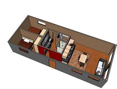 container home blog 8 x40 shipping container home design container house 2 8 x 40 shipping containers