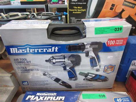Tool Kit 100 Pcs Kenmaster Kenmaster Tool Kit 100 Pcs new mastercraft air tool combo kit