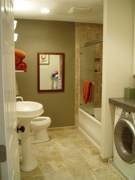 Bathroom Laundry Room Combo Small Laundry Room Bathroom