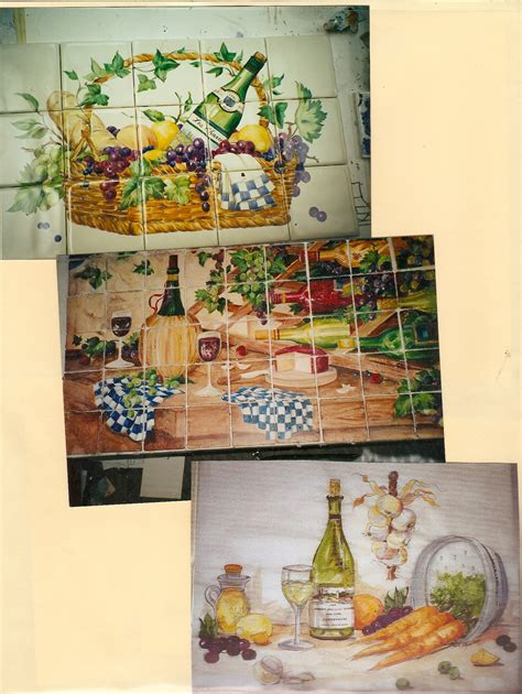 tile murals for kitchen backsplash ceramic tile kiln