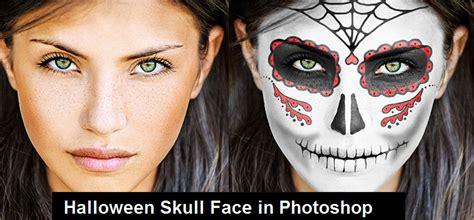 tutorial photoshop skull face halloween photoshop and illustrator new tutorials psddude
