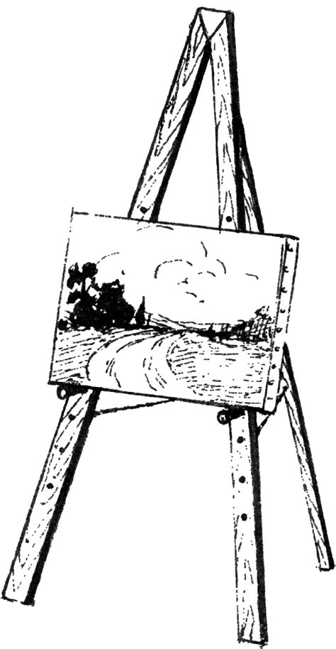 Drawing Easel by File Easel 2 Psf Png Wikimedia Commons