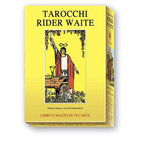Rider Set tarocchi rider waite set