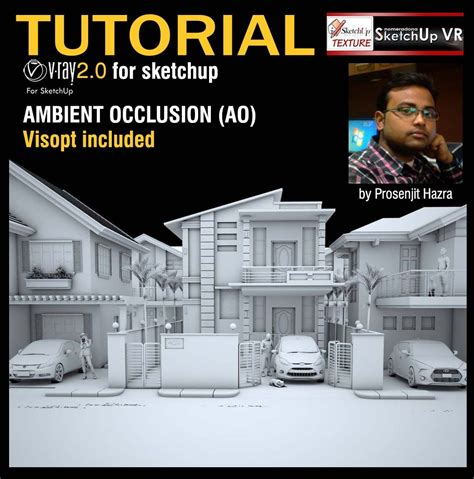 vray sketchup tutorial for beginners tutorial ambient occlusion vray 2 0 for sketchup ambient