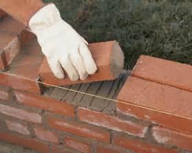 build a brick garden wall how to