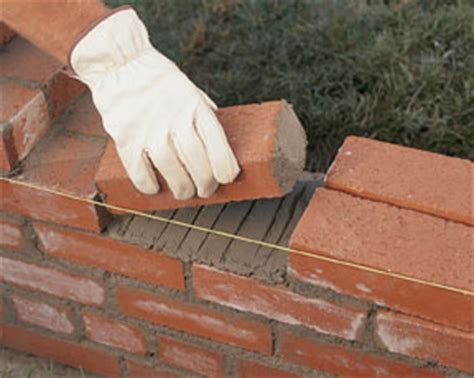 building a garden wall build a brick garden wall how to