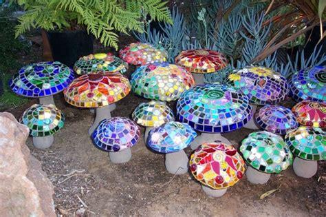 Pilze Basteln Garten by Mosaiksteine In Der Gartengestaltung Bastelideen Und Mehr