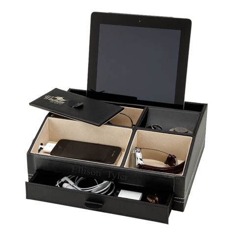 Phone Organizer Desk Tablet Smart Phone Media Organizer Charging Station Hansonellis