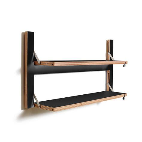 Folding Shelf by Buy Ambivalenz Flapps Folding Shelf 80x40 Black