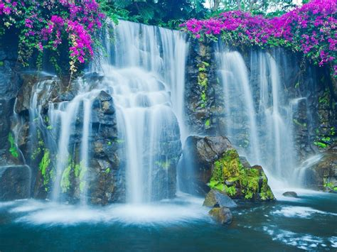 wallpaper desktop waterfall waterfall wallpapers page 4