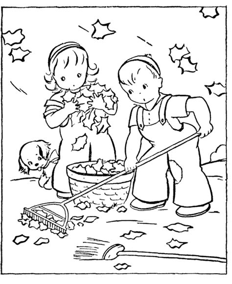 fall coloring pages 1 coloring kids