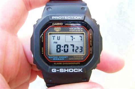 Casio G Shock Tali Gshock Dw 5000 Dw5000 Dw 5000 Rubber Hitam casio g shock dw 5000sl 1 dw 5xxx photos and