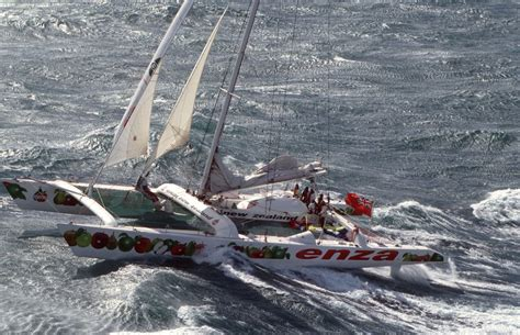 catamaran capsized australia bullimore s 33m catamaran capsized seven crew rescued