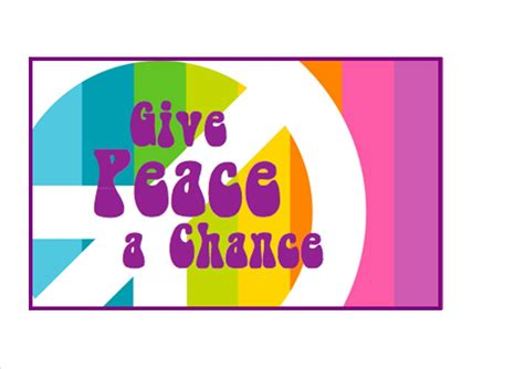 Trend Alert Give Peace A Chance by Give Peace A Chance Drcwm S Second Annual Celebration Of
