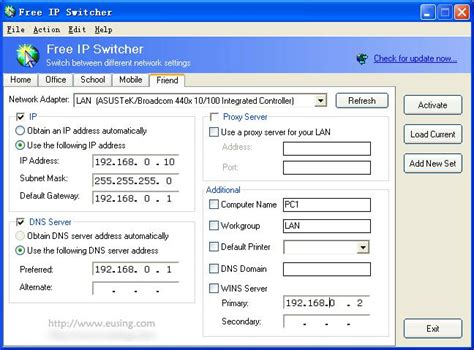 how to reset an ip address for time warner internet free ip switcher switch between different network